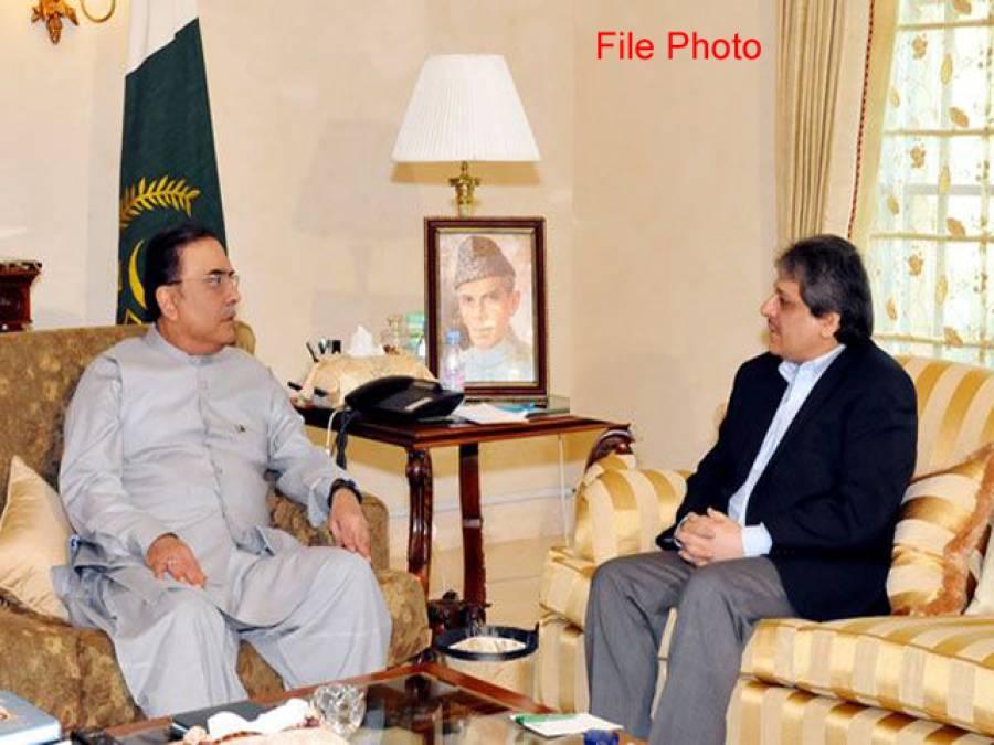 آصف زرداری سے ڈاکٹر عشرت العباد خان کی ملاقات، مفاہمت کی پالیسی جاری رکھنے پر اتفاق