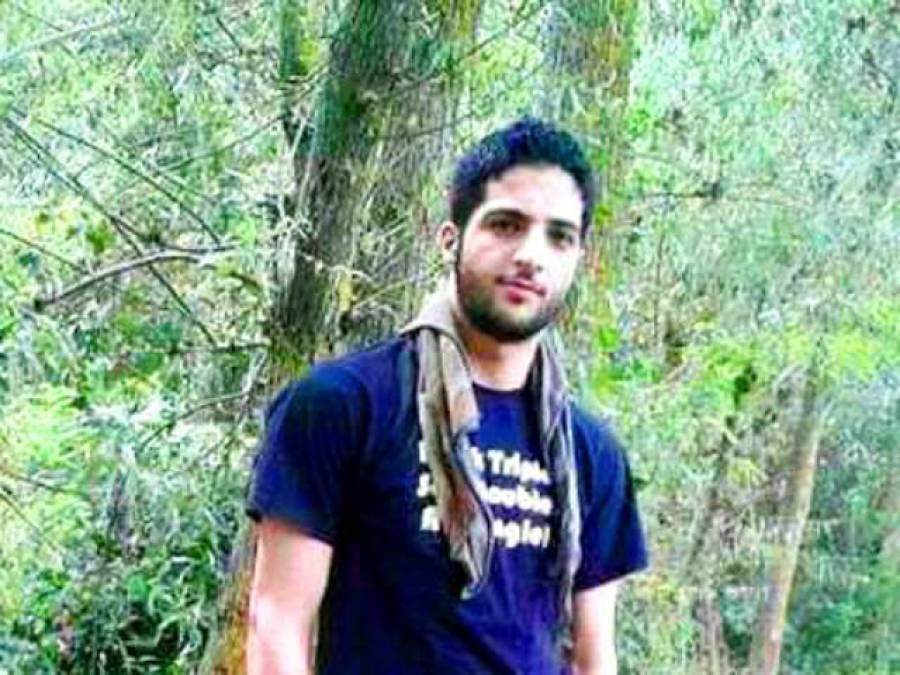 نوجوان ہیرو شہید برہان وانی نے اپنا نام2016 ءکی حیران کن شخصیات میں لکھوالیا