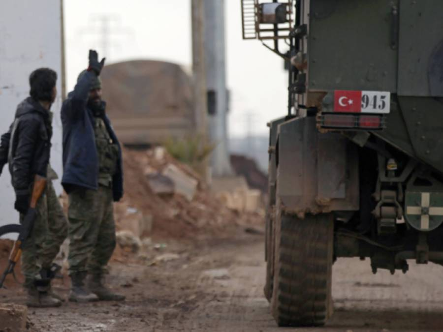 ترک افواج کی شام میں کارروائی،داعش کے 19جنگجوہلاک ،متعدد ٹھکانے تباہ،امریکہ نے بطور انعام امداد میں اضافہ کردیا