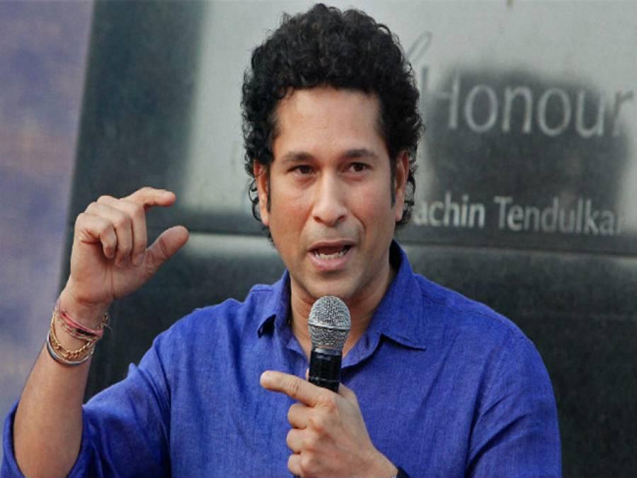 بھارتی بلے باز سچن ٹنڈولکر نے موسیقی کے میدان میں بھی جلوہ دکھا دیا