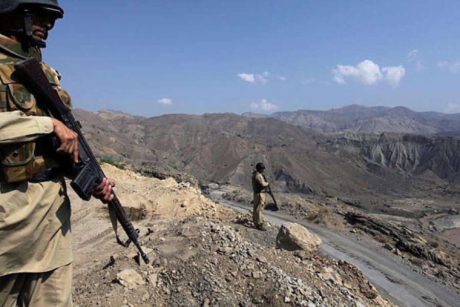 افغان فورسز کی پاکستانی حدود میں اشتعال انگیزی,شاہینوں کے جوابی وار سے ایک افغان اہلکار ہلاک