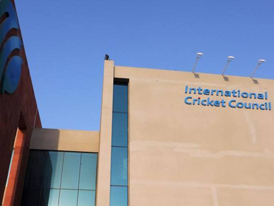 کرکٹ کی بحالی کیلئے کوششیں تیز،آئی سی سی ٹاسک فورس کے سربراہ پاکستان پہنچ گئے