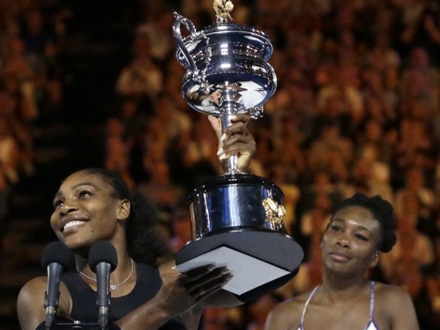 ٹینس سٹار سرینا ولیمز نے اپنی بہن کو ہرا کر آسٹریلین اوپن ٹائٹل جیت لیا