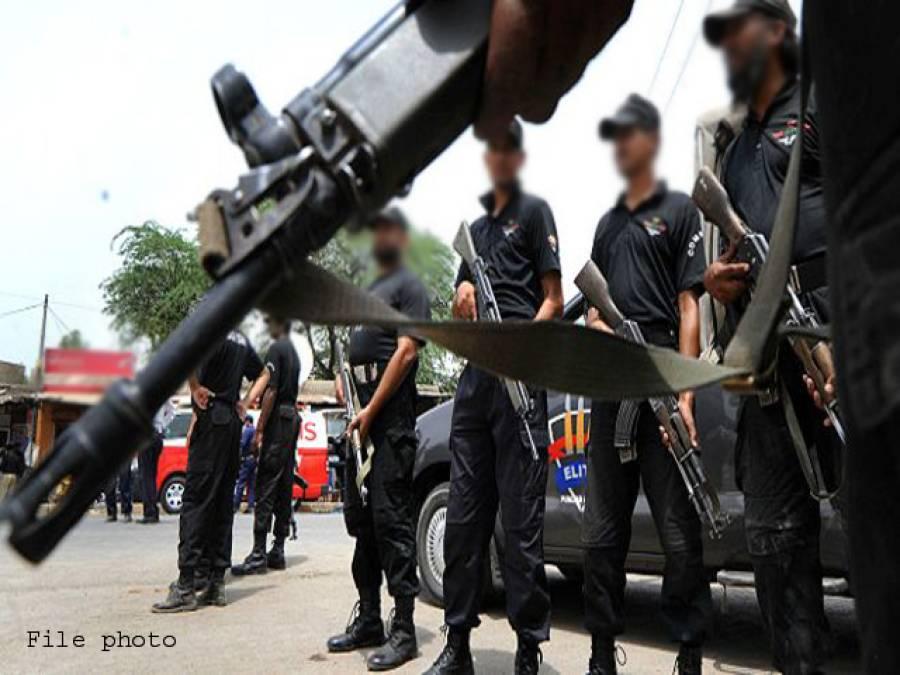 سی ٹی ڈی کا منگھو پیر میں چھاپہ ، خود کش بمبار سمیت 2 دہشت گرد گرفتار