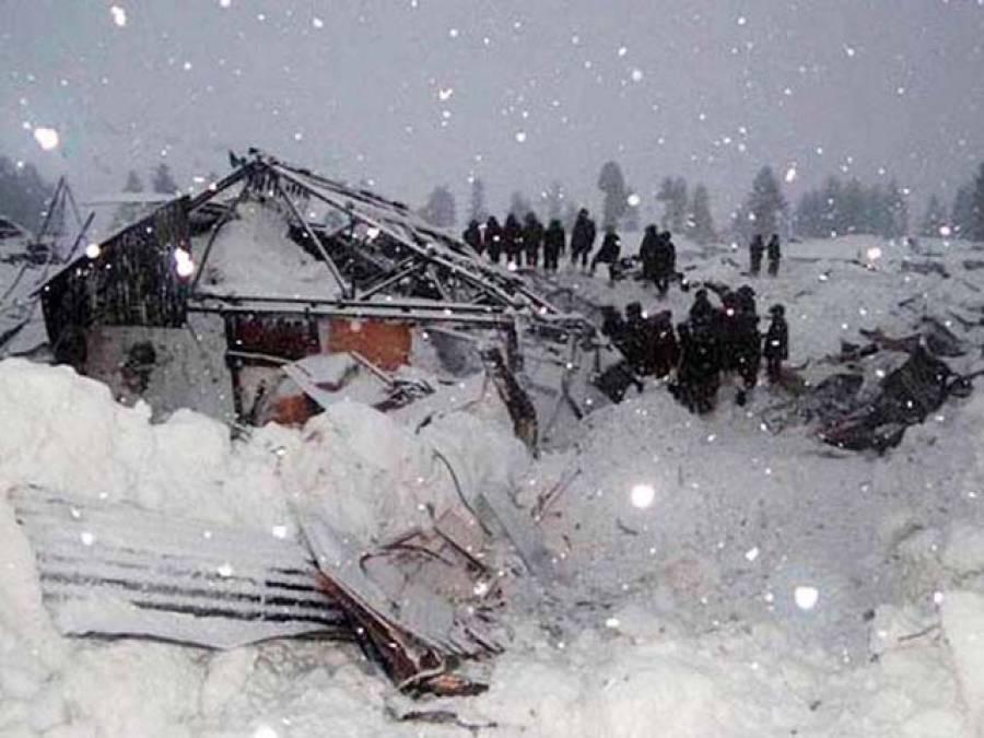 ''مقبوضہ کشمیر میں بھارتی فوج پر آسمانی قہر کا غصہ کم نہ ہوا''کپواڑہ سیکٹر میں برفانی تودہ گرنے سے 5قابض فوجی لاپتا ہو گئے ،امدادی ادارے ڈھونڈنے میں ناکام