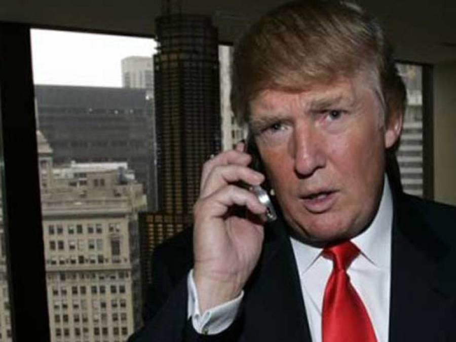 امریکی صدرڈونلڈ ٹرمپ کا جاپانی وزیراعظم شینزوایبے سے ٹیلیفونک رابطہ