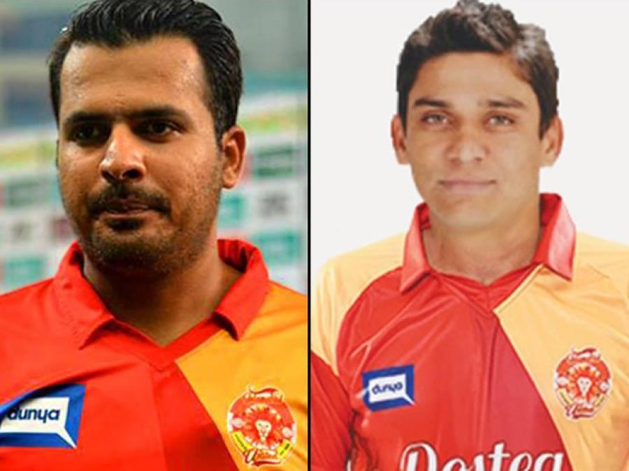 سپاٹ فکسنگ میں ملوث شرجیل خان اور خالد لطیف کو چارج شیٹ آج دی جائے گی