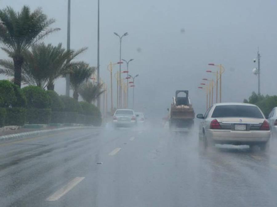 جمعہ سے سعودی عرب میں بارشوں کا نیا سلسلہ شروع ہونے کا امکان ہے : سعودی محکمہ موسمیات