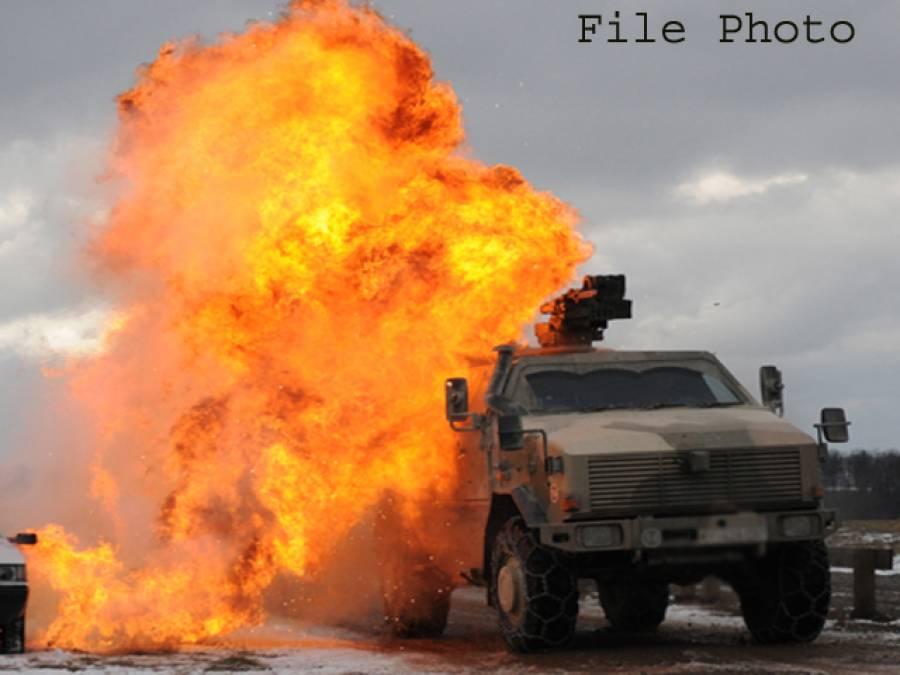 فوجی گاڑی کے قریب بارودی سرنگ کا دھماکہ، کیپٹن سمیت پاک فوج کے 3 جوان شہید
