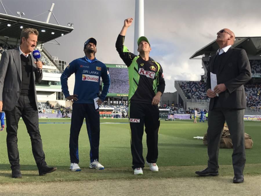 دوسرا ٹی 20: سری لنکا کا آسٹریلیا کے خلاف ٹاس جیت کر فیلڈنگ کا فیصلہ