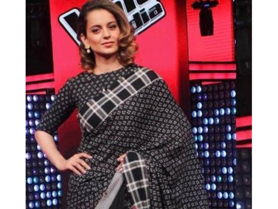 نقل اتارنے پر اداکارہ کنگنا نے ٹی وی شومیں میزبان کو تھپڑمارنے کی دھمکی دیدی