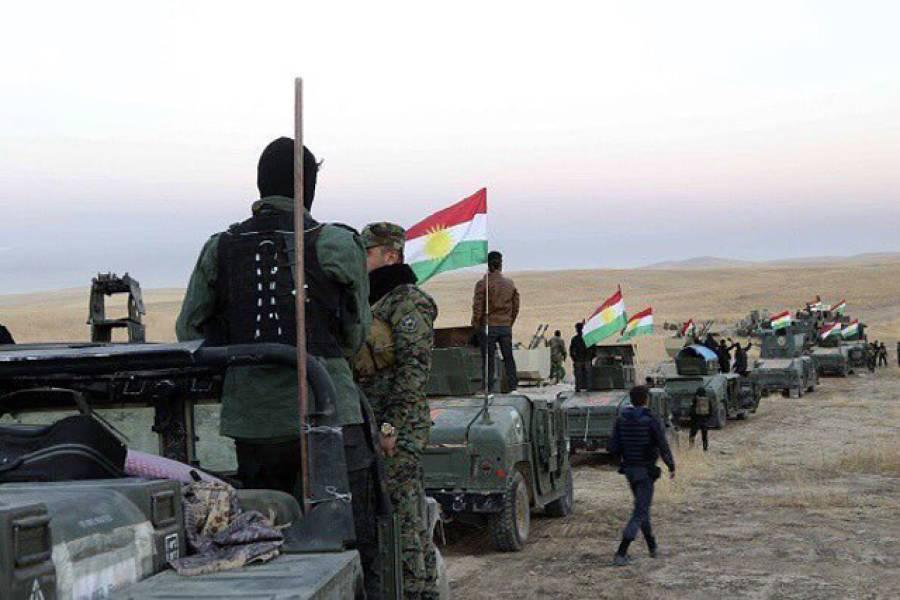 عراقی فوج کا موصل کو داعش سے چھڑانے کیلئے بڑا حملہ،سینکڑوں فوجی گاڑیوں کی جہادیوں کے ٹھکانوں کی طرف پیش قدمی