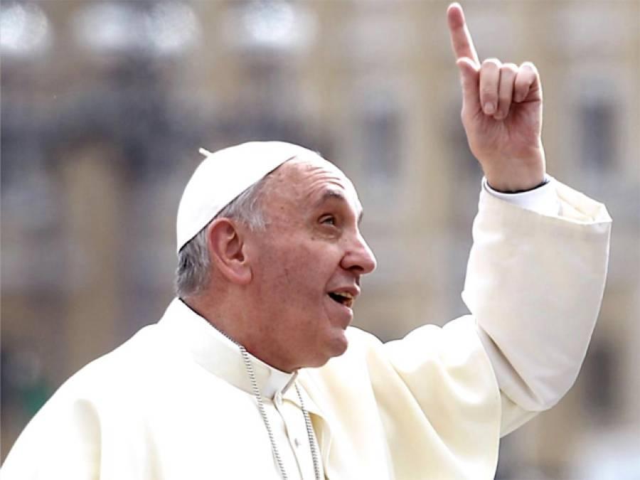کیتھولک عیسائیوں کے روحانی پیشوا کی پاکستان میں ہونے والے دھماکوں کی مذمت ، خدا کو رحم اور ہمدردی پسند ہے تشدد نہیں:پوپ فرانسس