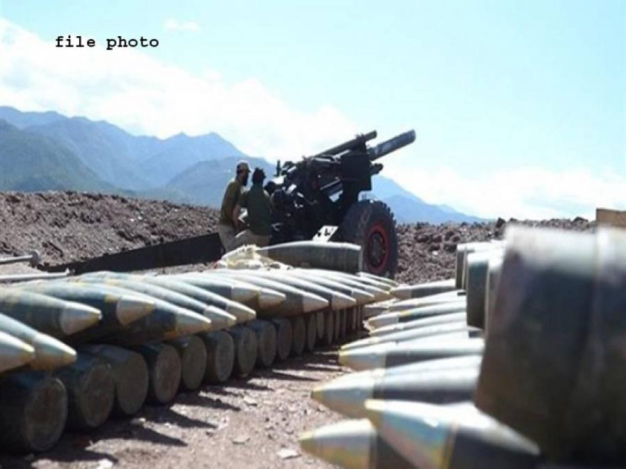 پاک فوج نے پاک افغان سرحد پر دہشت گردوں کی نقل و حرکت روکنے کے لیے بھاری توپ خانہ بھجوا دیا