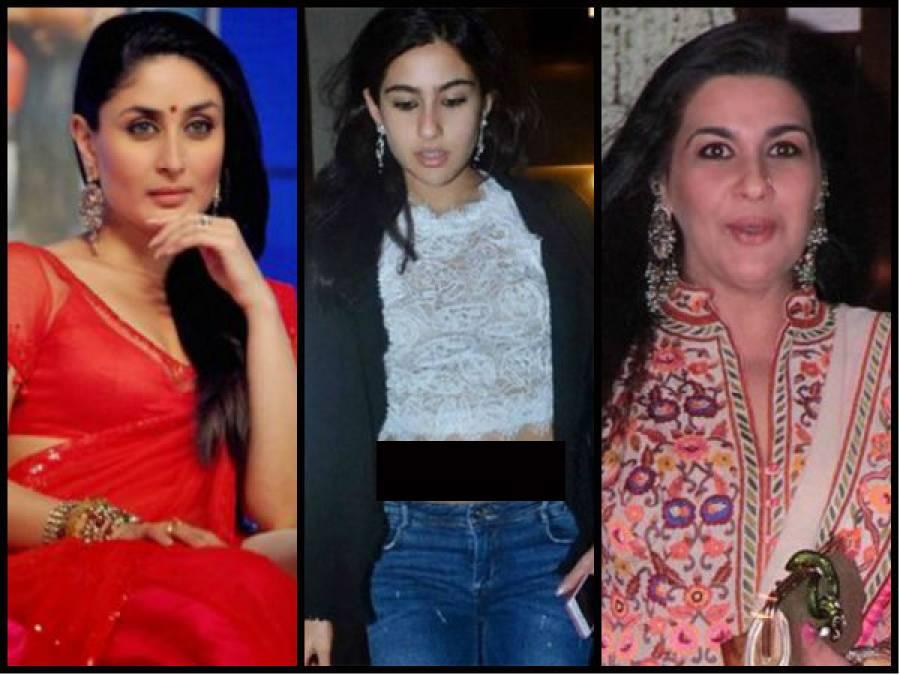 کرینہ کپور کی سوتیلی بیٹی نے بالی ووڈ میں قدم رکھ کر ماں کو بڑی ٹکر دے دی ،تصاویر نے سوشل میڈ یا پر تہلکہ مچا دیا
