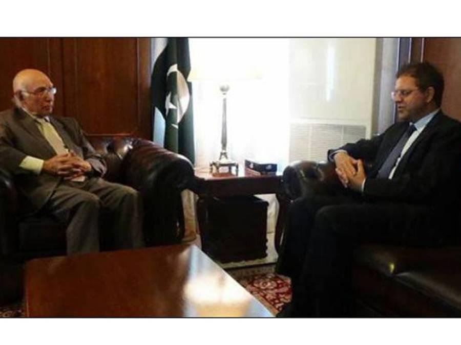 دہشت گردوں کی فہرست ا فغان سفیر نے وزارت خارجہ کو نہیں، جی ایچ کیو کے سپرد کی ہے:سرتاج عزیز
