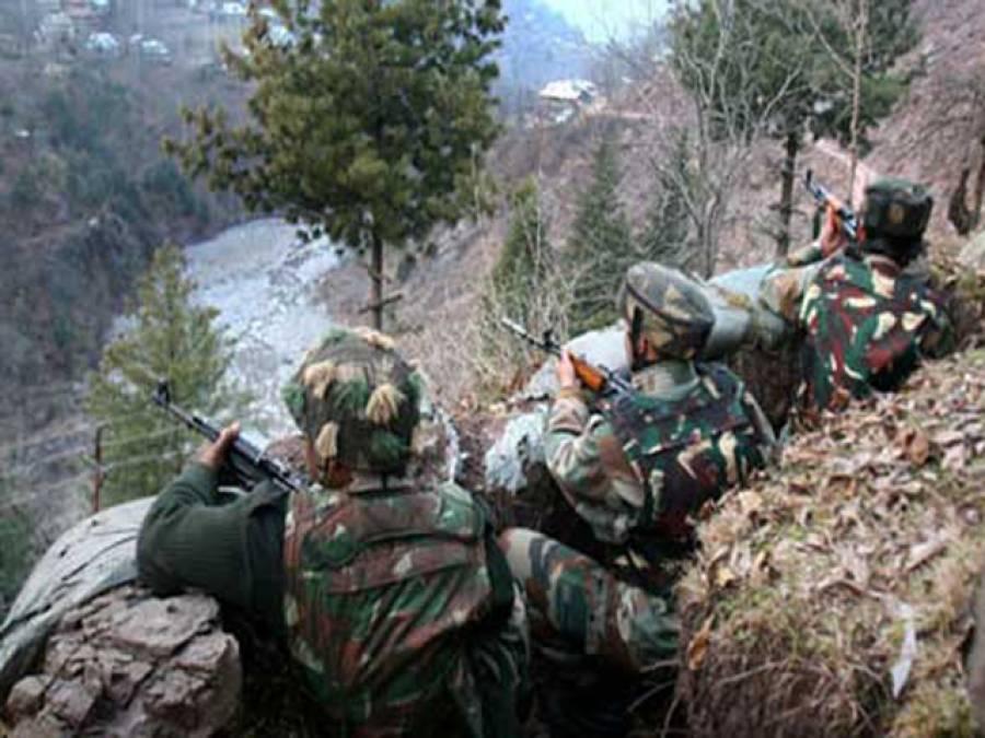 راولاکوٹ : بھارتی فوج کی عباس پور پونچھ سیکٹر پر بلااشتعال فائرنگ ، بچہ اور خاتون زخمی