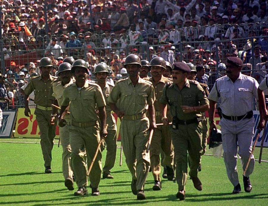 """""""13 مارچ کرکٹ کی تاریخ کا سیاہ ترین دن۔۔۔"""" آج کے روز نام نہاد جمہوری بھارتیوں نے کرکٹ کے میدان میں وہ کام کیا تھا جو رہتی دنیا تک بھارت کا منہ کالا کرتا رہے گا، کیا ہوا تھا؟ آپ بھی جانئے"""