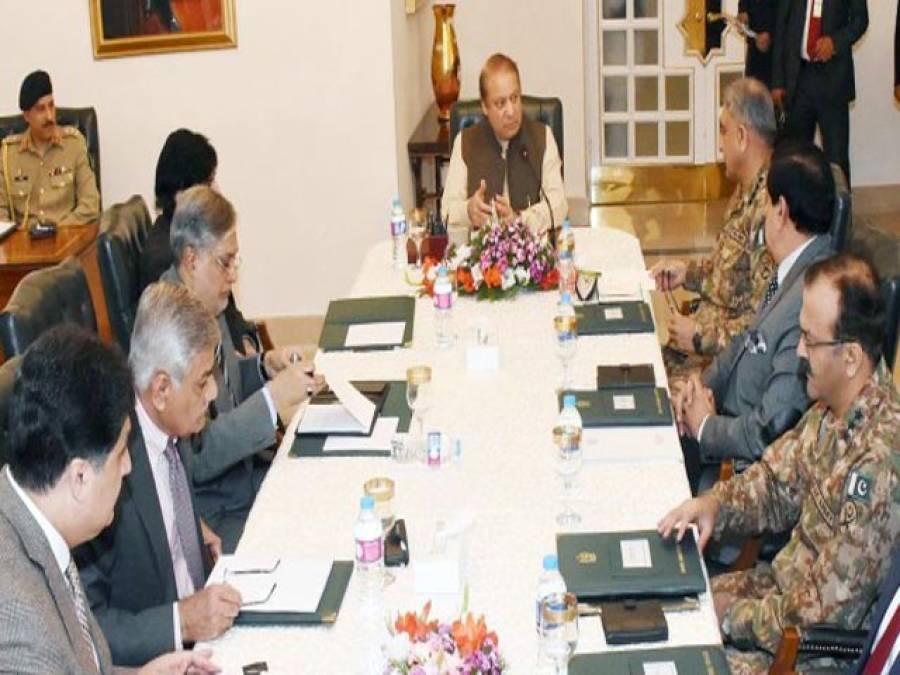 وزیراعظم کی زیر صدارت اعلیٰ سطح کا سکیورٹی اجلاس،نیشنل ایکشن پلان پر عملدرآمد تیز کرنے کا فیصلہ