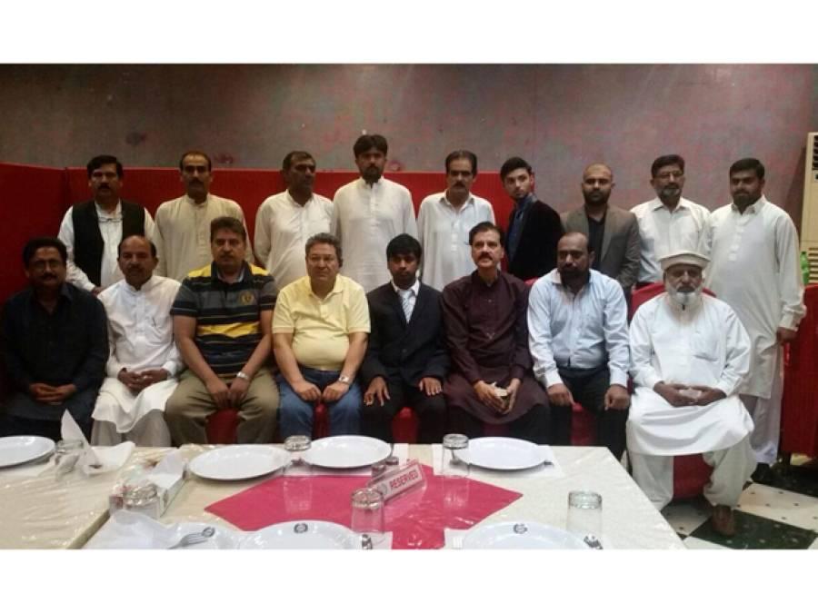 سعودی عرب میں پیپلز پارٹی کے کارکن میاں فہیم احمد متیلہ کے اعزاز میں الوداعی عشائیہ
