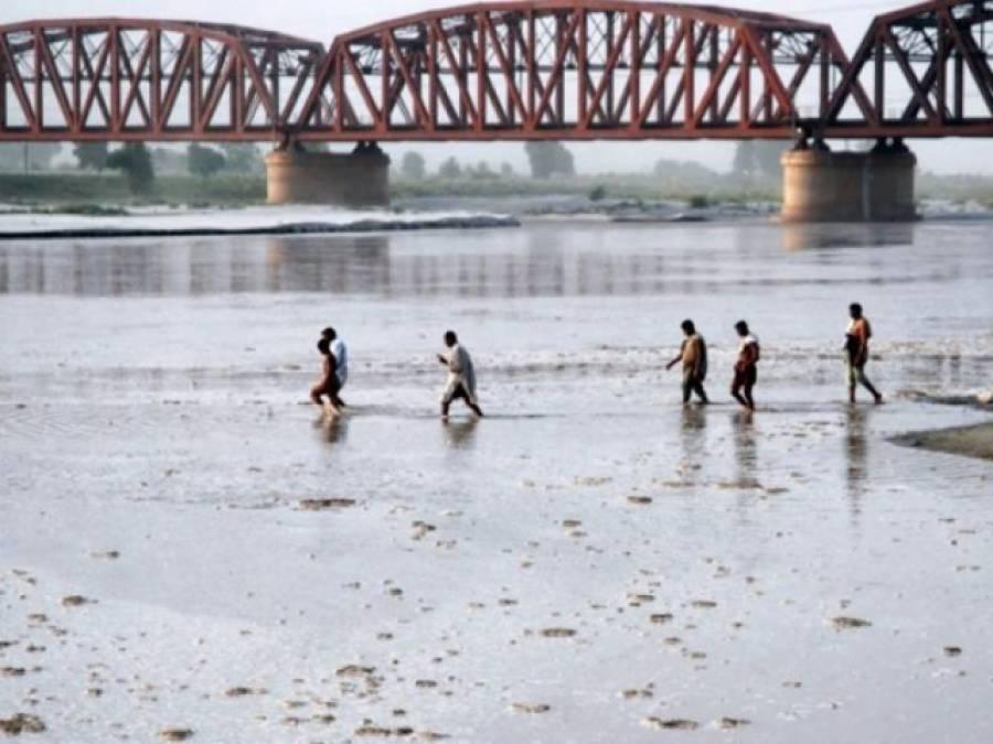 بھارت کی جانب سے سندھ طاس معاہدے کی خلاف ورزی ، دریائے چناب کا پانی روک لیا