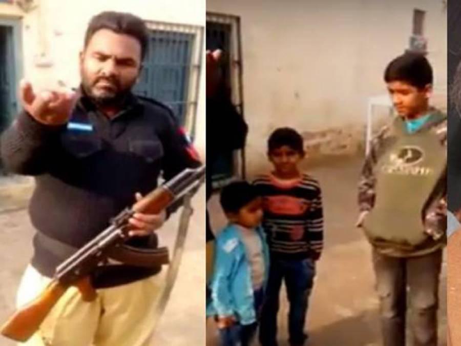 وزیر اعلیٰ شہباز شریف کے مقابلے الیکشن لڑنے کا اعلان کرنیوالا کانسٹیبل بچوں سمیت گرفتار