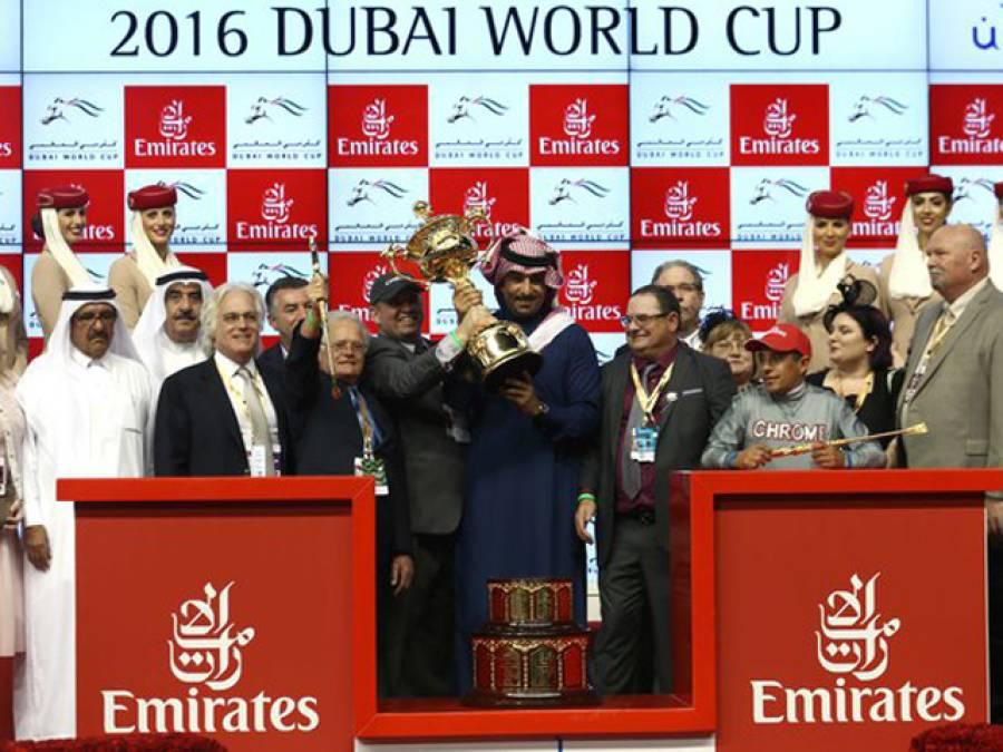 دبئی میں دنیا کا مہنگا ترین میلا سج گیا، دبئی کے حکمران نے اپنا شوق پورا کرنے کے لیے اتنا پیسہ بہا دیا کہ پوری دنیا کی آنکھیں کھلی کی کھلی رہ گئیں، جیتنے والے کے لیے 1ارب انعام کا اعلان
