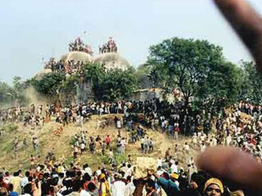 بابری مسجد نہیں رام مندر کروڑوں ہندوؤں کے عقیدہ کا مسئلہ،2018ء میں پارلیمنٹ سے قانون منظور کر کے تعمیر شروع کر دیں گے:بھارتیہ جنتا پارٹی کے اہم رہنما نے دھمکی دے دی
