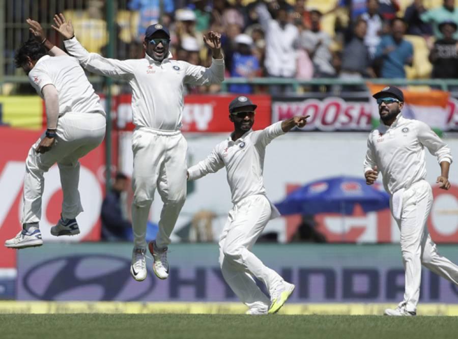 جدیجہ کی نصف سنچری اور عمدہ باﺅلنگ، فیصلہ کن ٹیسٹ میں آسٹریلیا کے سر پر شکست کی تلوار لٹکنے لگی، بھارت کے بغیر کسی نقصان کے 19 رنز، جیت کیلئے مزید 87 رنز درکار