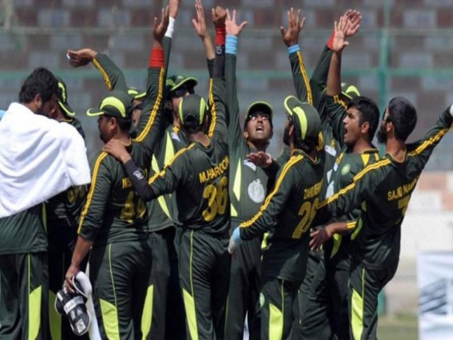 شائقین کرکٹ کیلئے خوشخبری،بلائنڈ کرکٹ ورلڈ کپ2018 ء کی میزبانی پاکستان کو مل گئی