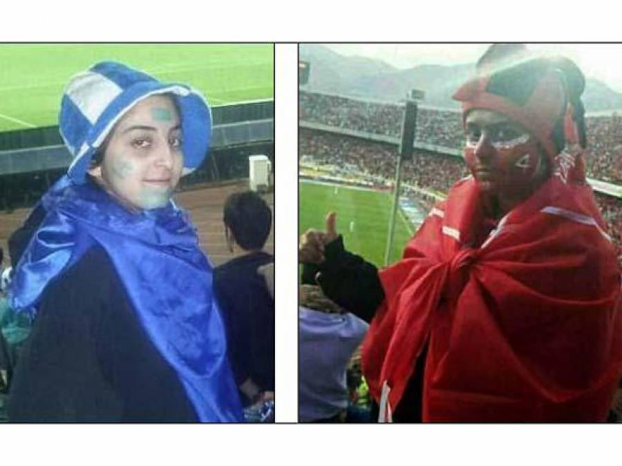 مردانہ لباس پہن کر میچ دیکھنے پر 8 خواتین گرفتار