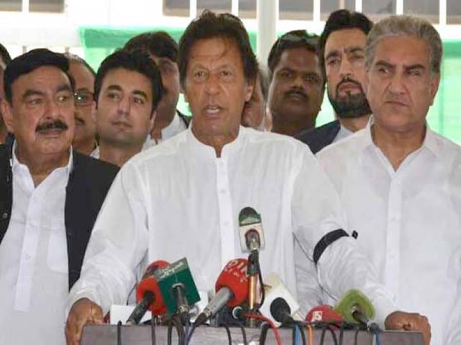 عمران خان نے آئندہ جمعہ کو اسلام آباد میں احتجاجی جلسے کا اعلان کردیا