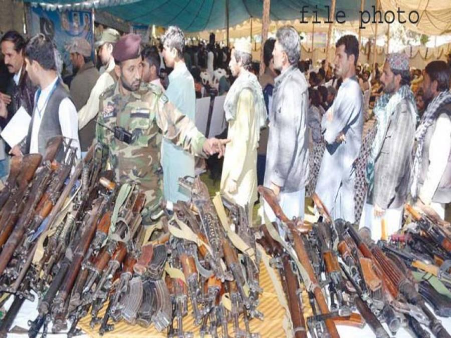 کوئٹہ میں کالعدم تنظیموں کے 400 فراریوں نے ہتھیار ڈال دیئے