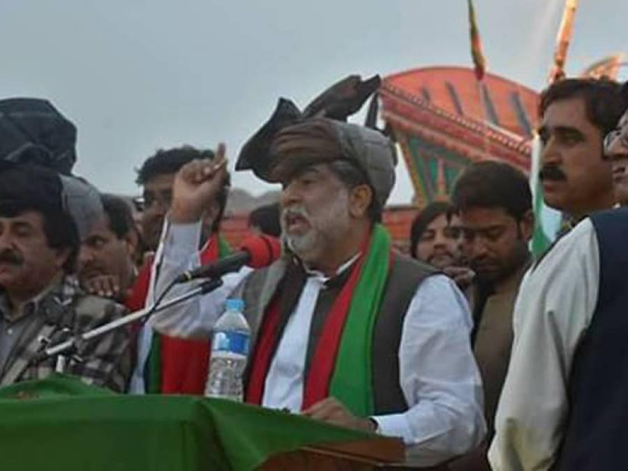 پیپلزپارٹی کرپشن کی ماہر ،آصف زرداری عوام کو بے وقوف بنا رہے ہیں ،نواز شریف کا پیچھا نہیں چھوڑا ، انجام تک پہنچائیں گے :سردار یار محمد رند