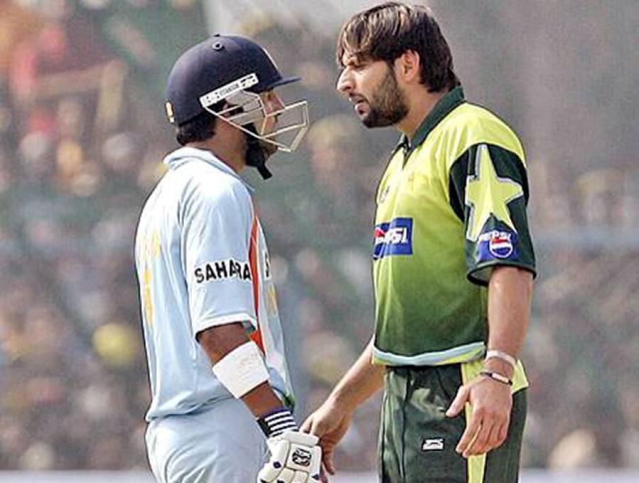 """""""کئی سال پہلے میچ کے دوران اس بھارتی کھلاڑی سے تلخ کلامی ہوئی تھی لیکن وہ آج بھی نہیں بھولا اور۔۔۔"""" شاہد آفریدی نے ایسا واقعہ سنا دیا کہ آپ کو بھی بھارتی کھلاڑیوں کے چھوٹے دل پر افسوس ہو گا"""