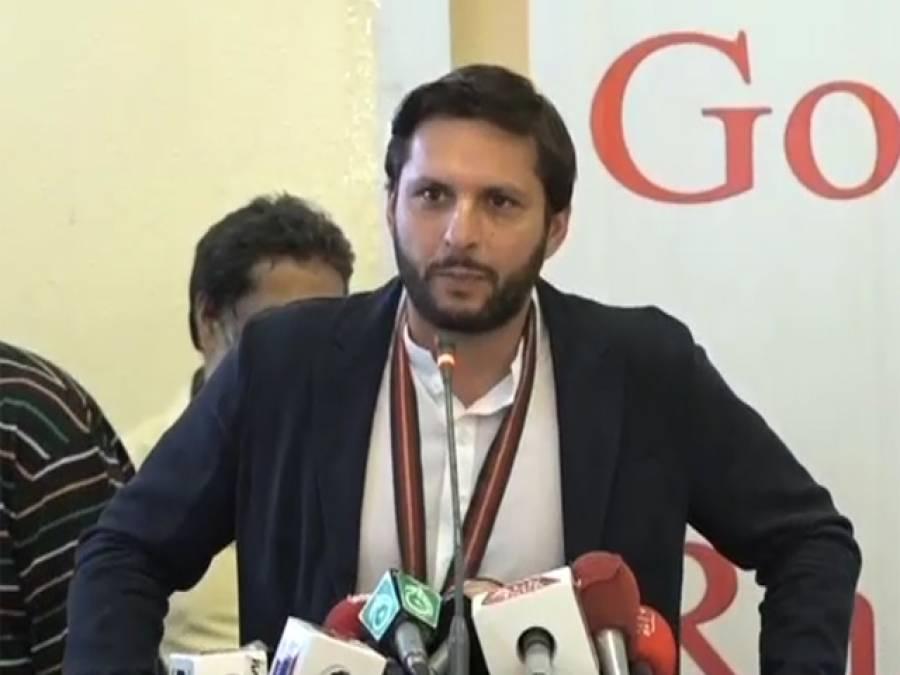 سندھ حکومت نے کرکٹ اکیڈمی کے لیے زمین دینے سے انکار کردیا،ڈرپوک ہوتا تو ورلڈ کپ 2011 کا الزام خود پر نہ لیتا:شاہد آفریدی