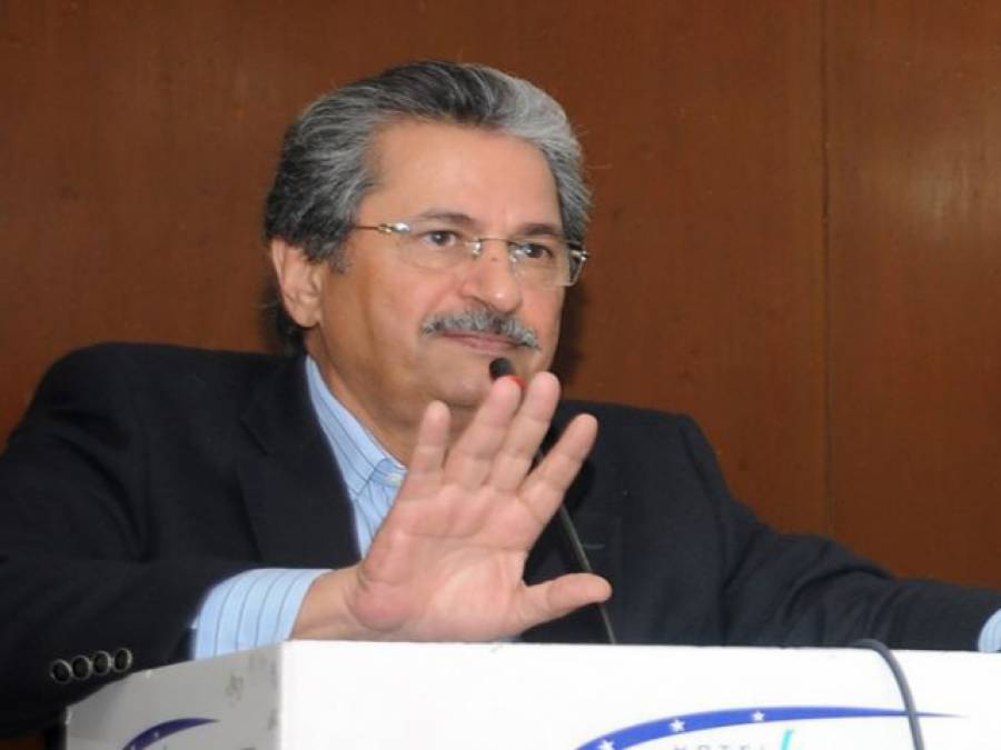 پیپلزپارٹی کے ساتھ مل کرکرپشن کے خلاف تحریک نہیں چلائی جاسکتی:شفقت محمود