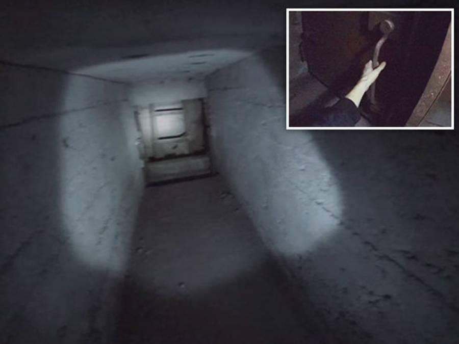 'میں فیکٹری کا دورہ کرنے گیا تو اس کے پیچھے یہ عجیب سا دروازہ نظر آیا جس سے سیڑھیاں نیچے جارہی تھیں، نیچے اترا تو ایسا منظر کہ دیکھ کر واقعی ہوش اُڑگئے، وہاں بکسوں میں بند۔۔۔'