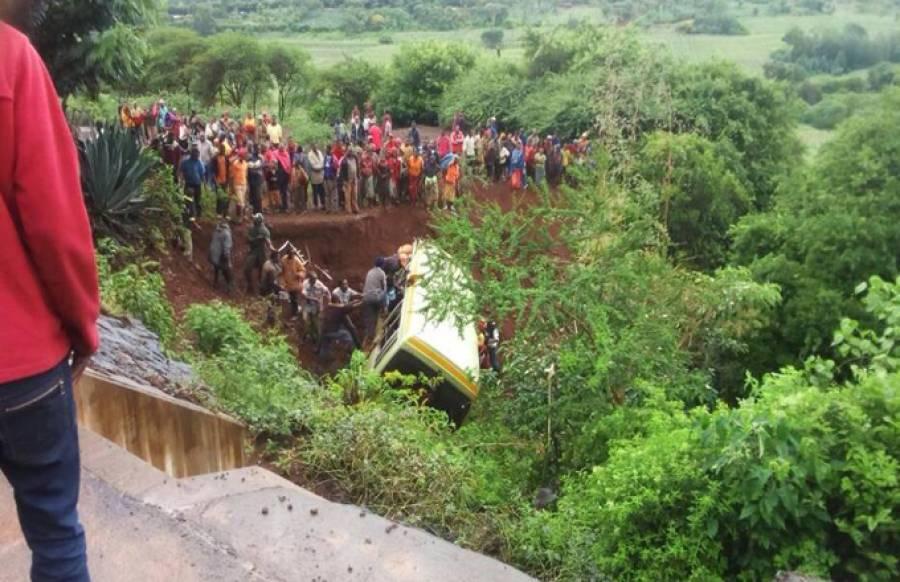 تنزانیہ میں سکول بس کو حادثہ، 29بچوں سمیت 34افراد ہلاک