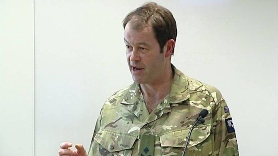 پاکستان نے دہشتگردی کیخلاف حیران کن کامیابیاں حاصل کی ہیں، برطانوی کمانڈر