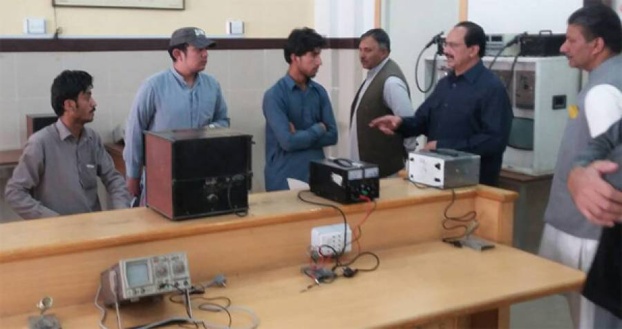 نیوٹیک کے ایگزیکٹو ڈائریکٹر ذوالفقار احمد چیمہ کابلوچستان کے پانچ مختلف تربیتی اداروں کا دورہ