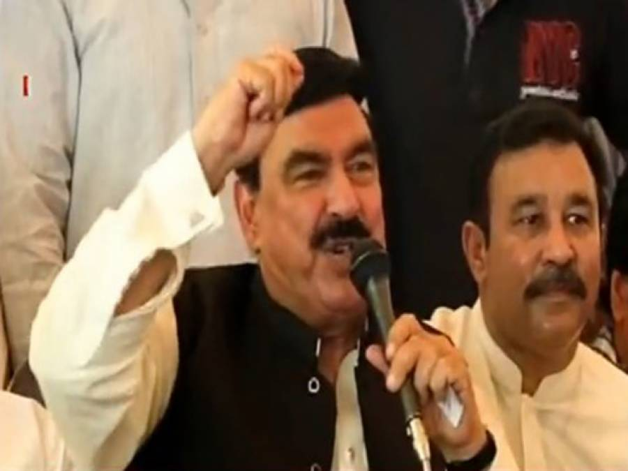 شیخ رشید نے این اےپچپن اور 56 سے عمران خان کے ساتھ ملکر الیکشن لڑنے کا اعلان کردیا