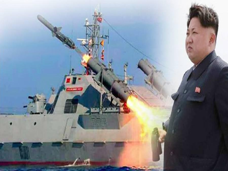 شمالی کوریا نے 4 ہزار 5 سو کلومیٹر تک مار کرنیوالے ایک اور میزائل کا تجربہ کرلیا