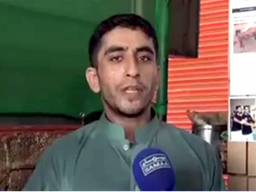 پاکستانی چائے فروش کا ایک اور اعزاز،40 پاﺅنڈ وزن کمر پر رکھ کر ایک ٹانگ پر پش اپس کا نیا عالمی ریکارڈ بنا ڈالا
