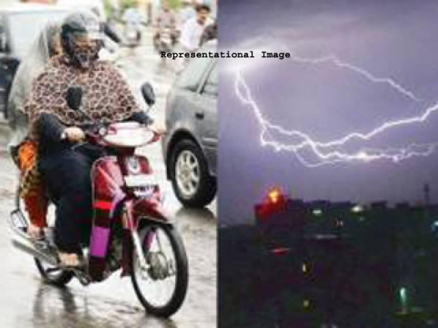 بارش ، آندھی سے تباہی ، آسمانی بجلی گرنے سےجنوبی پنجاب میں واقع گاﺅں 'بینی ڈب ' جل کر خاکستر