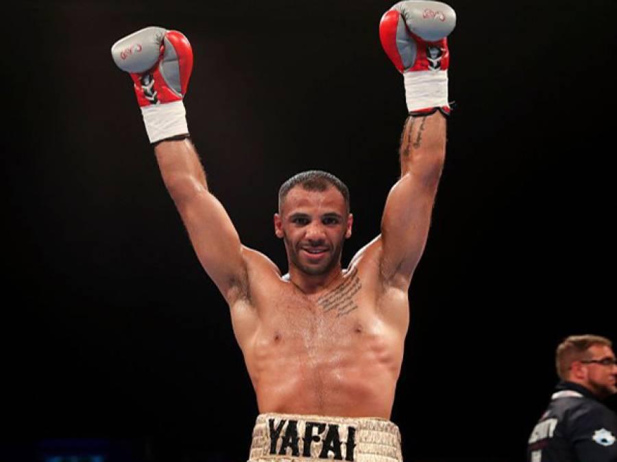 برطانوی باکسر خالد یفائی نے فلائی ویٹ چیمپیئن شپ جیت لی