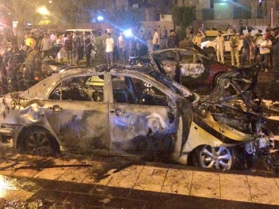 بغداد کے آئس کریم پارلر میں خودکش دھماکہ،13 افراد جاں بحق،30 سے زائد زخمی