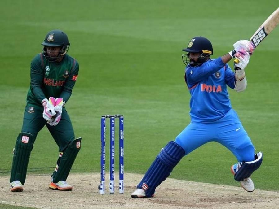 وارم اپ میچ ،بھارت نے بنگلہ دیش کو 240رنز سے شکست دیدی