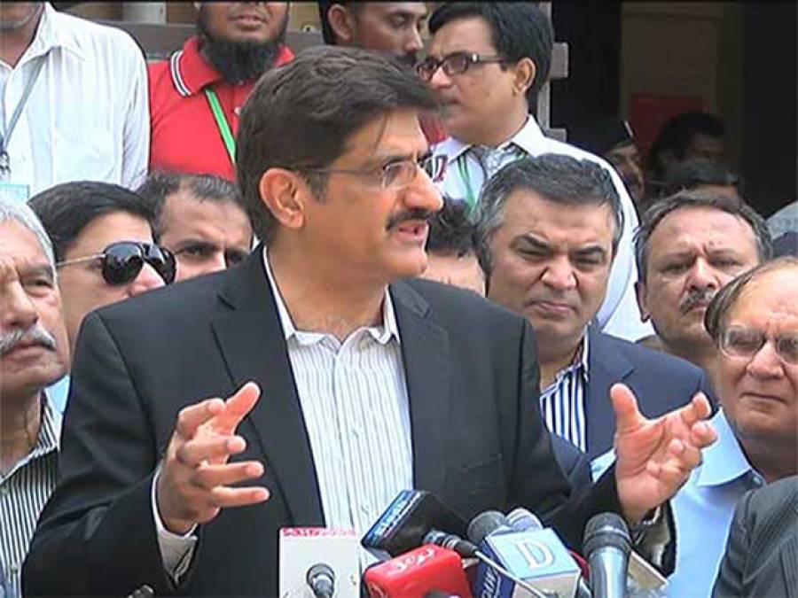 وفاق نے سندھ کے ساتھ عہد شکنی کی یا اللہ حکومت کو ہدایت دے، کے الیکٹرک کراچی کے عوام کے ساتھ ظلم کر رہا ہے: مراد علی شاہ