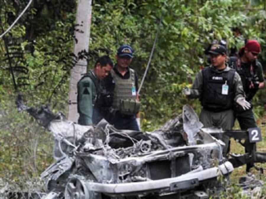 تھائی لینڈ دارالحکومت میں بم دھماکہ پانچ فوجی ہلاک